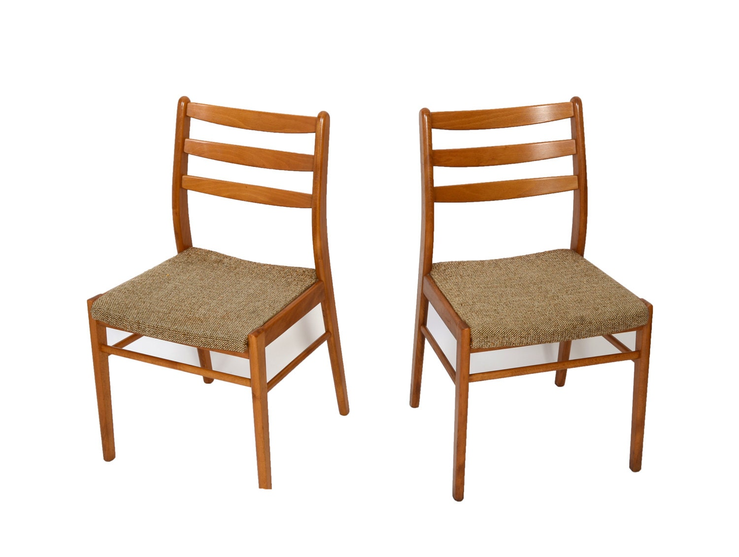 4 danish modern dining chairs 70s by hearthsidehome on etsy for Danish modern dining chairs