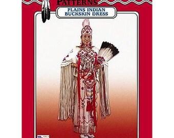 Plains Indian Buckskin Dress Pattern