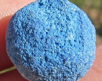 AZURITE NODULE BLUEBERRY Sphere-from Utah (#2-cr0001317)Crystals & Minerals-Gems Stones Rocks-Metaphysical Healing,Chakra,Reiki,Magick,Wicca