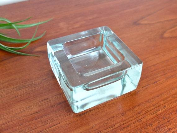 vide poche cendrier en verre art deco vintage par lestrictmaximum. Black Bedroom Furniture Sets. Home Design Ideas