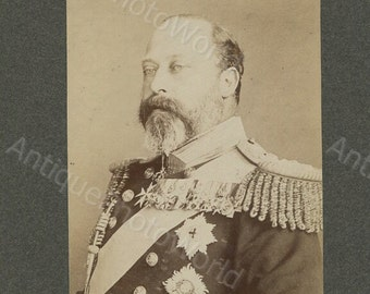 King Edward VII antique royalty photo