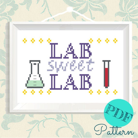 Nerdy cross stitch diy embroidery quote geeky by