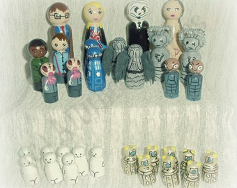 Fandom Chess Set inspired by Doctor Who