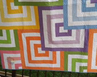Mezmerize Quilt 60 x 70 with FREE SHIPPING