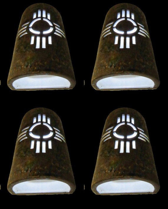 New Mexico Symbol Outdoor Wall Sconce By Customcutlighting