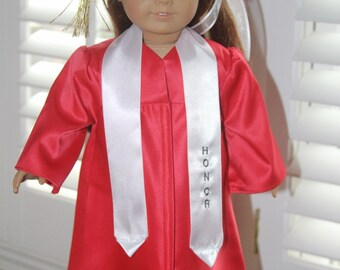Graduation, Commencement Outfit for a favorite 18 inch doll