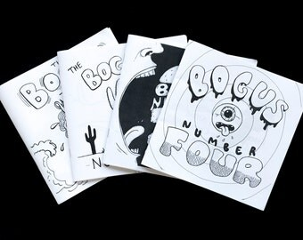 The Bogus Zine - Issues 1-4