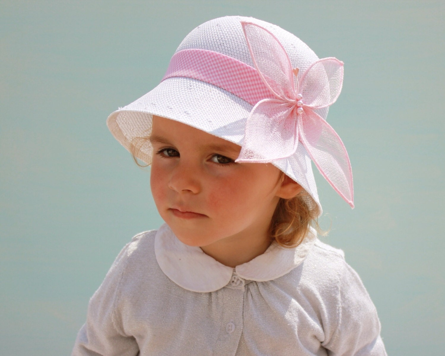 Toddler Girl Sun Hat Fancy Baby Little Girls Tea