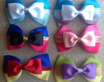 Disney Inspired tuxedo Bow (you choose)