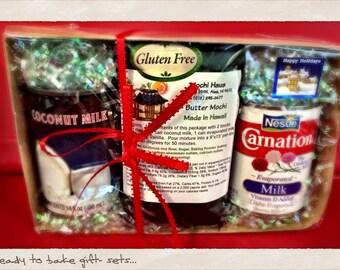 Gluten Free Butter Mochi Gift Sets