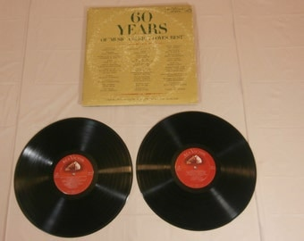 60 Years of Music America Loves Best LP Album LM-6074 - 2 records