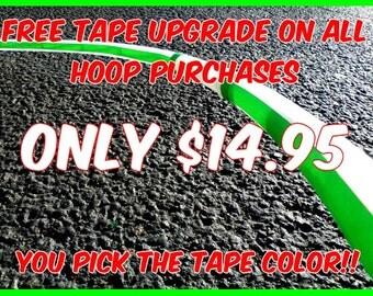 Free Tape Upgrade Practice Hula Hoop made your way by Colorado Hula Hoops!