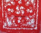 Hand embroidered wedding evening wrap, silk piano shawl, spanish flamenco dance wear mantones