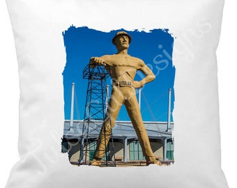 Tulsa Driller Pillow Cover