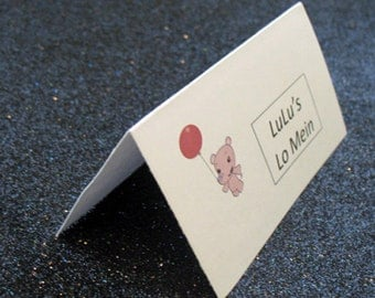 Ni Hao Kai Lan placecards, Ni Hao Kai Lan placecards, Rintoo placecards, lulu placecards