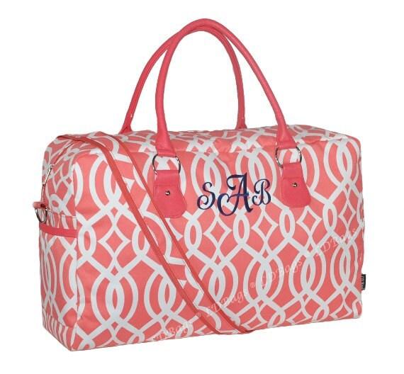 Weekender Duffle Bag Personalized Weekender Bag Weekender