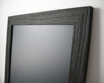 BLACK BARNWOOD Framed CHALKWOOD Large Magnetic Wedding Kitchen Blackboard Photo Rustic Barn Wood Frame Restaurant Menu Chalk Board Magnet