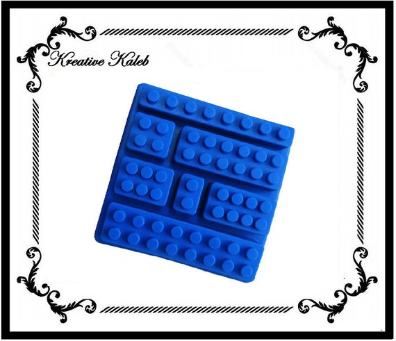 Blocks Silicone Molds Ice Tray Chocolate Jello Candy Crayon Tray ...
