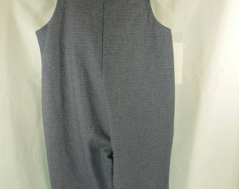 Long Overalls 2T  26 to 29 LBS plain or custom embroidered