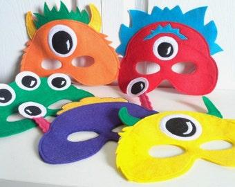 Monster Alien Mask Party Pack