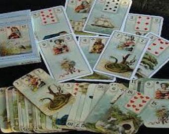 "Predictive Nine Card or ""Box Spread""  Lenormand Reading"