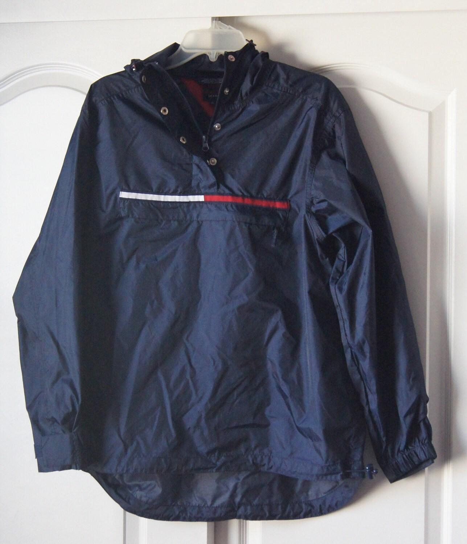 tommy hilfiger 90 39 s vintage windbreaker jacket pullover. Black Bedroom Furniture Sets. Home Design Ideas