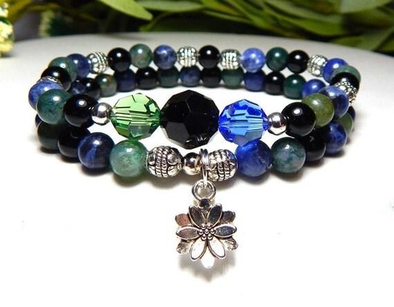 bracelet calm bracelet energy bracelet by bluestoneriver