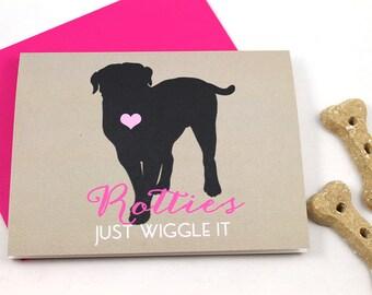 Rottie / Rottweiler Card