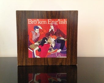 Broken English Game by American Greetings 1972