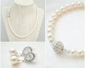Bridal Jewelry SET, Wedding Jewelry SET, Bridal Necklace Set, Wedding Necklace Set