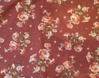 2 yards of Vintage Rose fabric