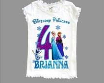Frozen Birthday Shirt - Disney Frozen Shirt