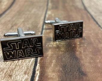 star wars cufflinks etsy. Black Bedroom Furniture Sets. Home Design Ideas