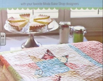 Fresh Fabric Treats Book-Your Favourite MODA Designers -16 projects to sew from Jelly Rolls, Layer Cakes-Quilt Patterns- Jelly Roll Patterns