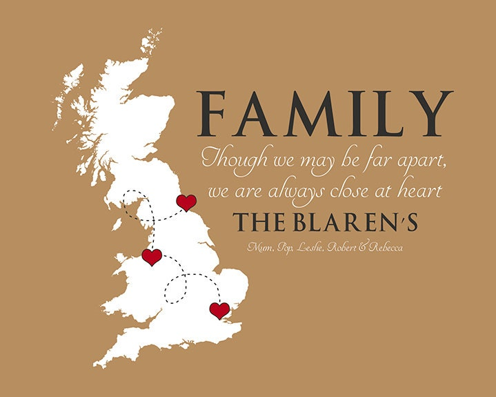 Christmas Quotes About Family: Family Quote, Any Map, UK, England