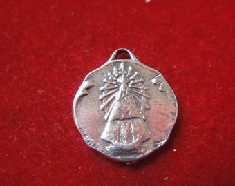 925 sterling silver virgin mary charm, silver small virgin mary, silver Virgin Mary