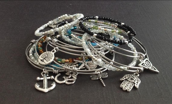 custom alex and ani inspired bracelets s day
