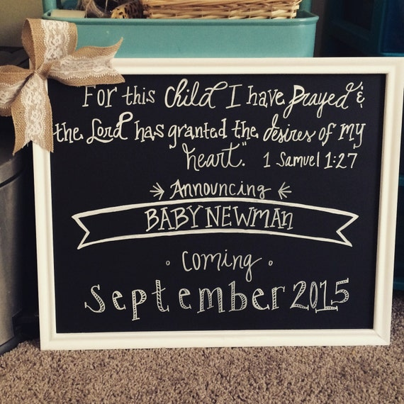Pregnancy Chalkboard Miscarriage Rainbow Baby For By