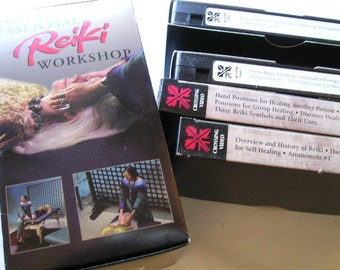 Bodywork|Massage Therapy|Reiki|Diane Stein's Essential Reiki Workshop|Four VideoCassettes|A Complete Guide to an Ancient Healing Art