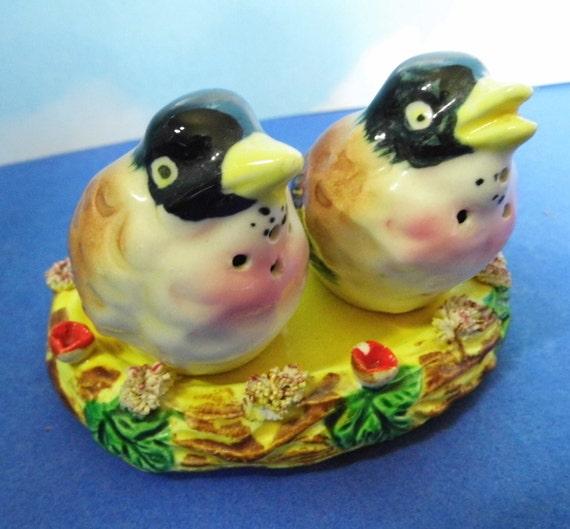 Bird Nest Salt And Pepper Shakers 2 Wild By