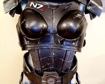 MASS EFFECT Inspired - Cosplay- FEMSHEP Armour - Made to Order -16 weeks