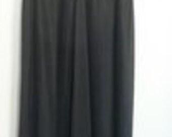 Vintage Black Nightgown