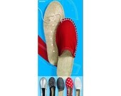 Make your own Espadrilles shoes *soles only* ADULT Size EU 38 - Summer Shoes Sandals Shoe Repair Handmade shoes by Prym