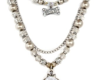 Swarovski Crystal and Pearl Set