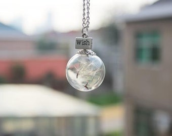 Necklace - Dandelion Wish