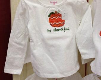 Baby/toddler Thanksgiving shirt
