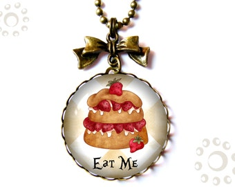 Eat Me necklace