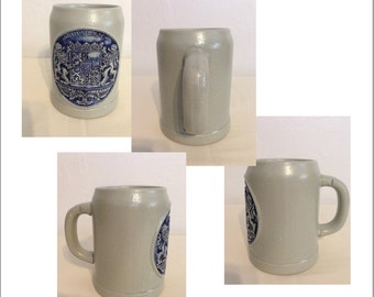 Vintage Bayern Stoneware 05l Beer Stein from West Germany
