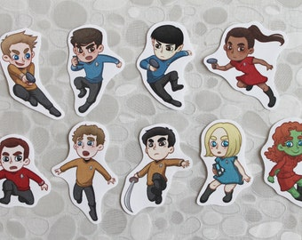 Star Trek reboot stickers