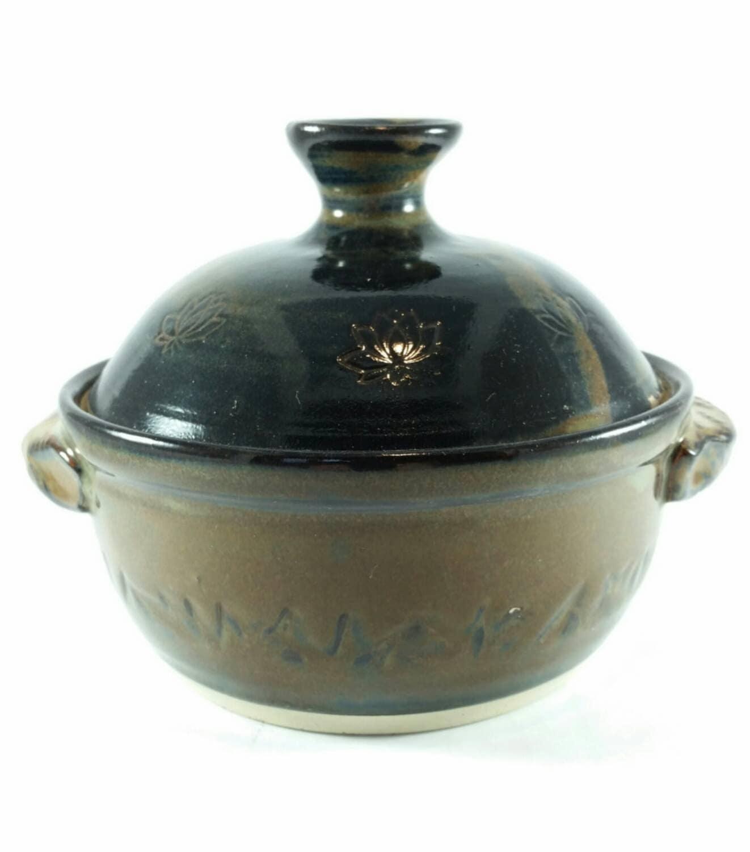 Handmade Ceramic Pottery Serving Dish Brown Pottery Ceramic